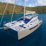 Xenia 50 at anchor