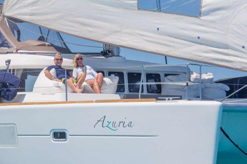 Azuria sailing