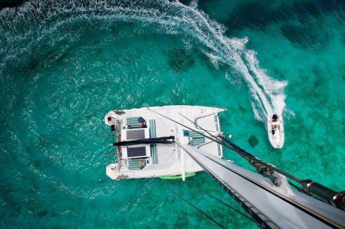 Come aboard BVI Yacht Charter Belline II