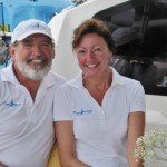Meet Magic Inspiration's Captain and Crew. Sail the Caribbean aboard this 46 ft Bahia BVI Yacht Charter.
