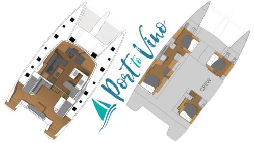 Yacht Layout of British Virgin Islands Charter Port to Vino
