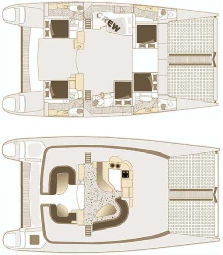 Yacht Layout of British Virgin Islands Charter Yes Dear