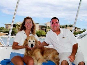 Captain and Crew of Priorities, a 57ft Lagoon Caribbean Yacht Charter