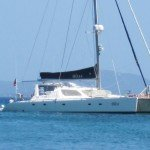 Welcome on board the dramatically perfect high end luxury catamaran for the BVI, Bliss.