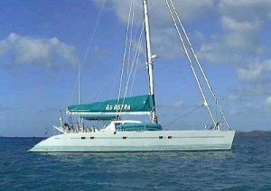 Come on board catamaran Adastra, a luxury Caribbean boat charter based in the BVI.