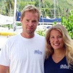 Meet Bliss's Captain and Crew. Sail the Caribbean aboard this 58 ft Voyage BVI Yacht Charter.