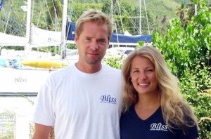 Captain and Crew of Bliss, a 58 ft Voyage Caribbean Yacht Charter