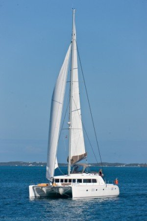 Come aboard BVI Yacht Charter Azuria