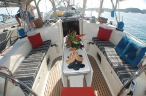 Come aboard BVI Yacht Charter Fidelity