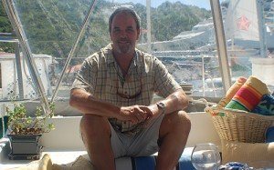 Captain and Crew of Catalyst, a 44 ft St Francis Marine Caribbean Yacht Charter