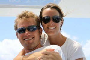 Captain and Crew of Foxy Lady, a 62ft Lagoon Caribbean Yacht Charter