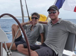 Captain and Crew of Blue Passion, a 60 ft Sloop Caribbean Yacht Charter