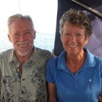 Meet Corus's Captain and Crew. Sail the Caribbean aboard this 45ft Whitby BVI Yacht Charter.