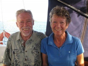 Captain and Crew of Corus, a 45ft Whitby Caribbean Yacht Charter