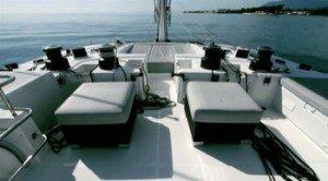 Come aboard BVI Yacht Charter Foxy Lady