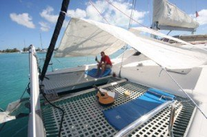 Come aboard BVI Yacht Charter Silver Moon
