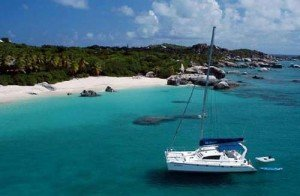Luxury catamaran rental for the British Virgin Islands Jet Stream is a non-smoking boat with a non-smoking crew.