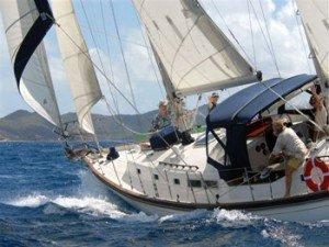 Come aboard BVI Yacht Charter Corus