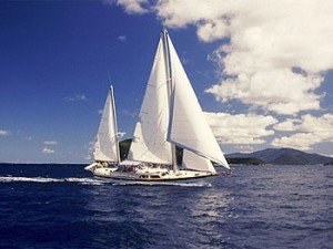 Come aboard BVI Yacht Charter Sandcastle