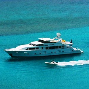 Freedom 120ft Power Yacht for Charter in the Caribbean and BVI