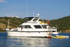 Come aboard BVI Yacht Charter Analisa
