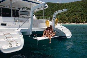 Come aboard BVI Yacht Charter Flip Flop