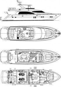 Yacht Layout of British Virgin Islands Charter Viaggio