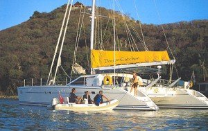 Dream Catcher is a captain only sailing cat in the British Virgin Islands.
