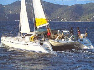 Come aboard BVI Yacht Charter Dream Catcher