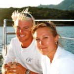Meet Miss Kirsty's Captain and Crew. Sail the Caribbean aboard this 62 ft Sunreef BVI Yacht Charter.