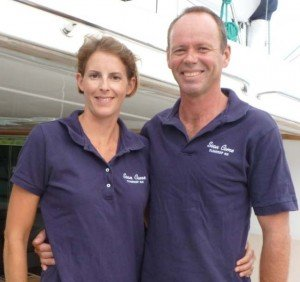 Captain and Crew of Soon Come, a 62 ft Sunreef Caribbean Yacht Charter