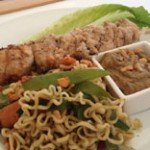 Mouth Watering Skewered Meals Aboard Caribbean Cat Blue Moon