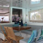 Caribbean Catamaran Blue Moon Aft
