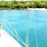Caribbean Sailboat Charter La Palapa Bow
