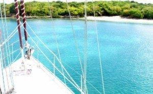 Come aboard BVI Yacht Charter La Palapa