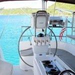Cockpit Area of La Palapa Caribbean Sailing Yacht Charter