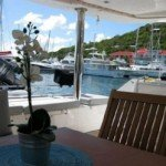 Cool Aft British Virgin Islands Catamaran Blue Moon