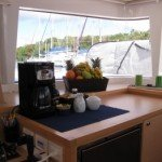 Blue Moon Caribbean Yacht Charter Galley 2