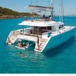 Catamaran for Charter in the British Virgin Islands and other Caribbean Territories Blue Moon