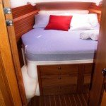 Master Bedroom of BVI Sailing Yacht Charter La Palapa