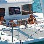 Tramps on Tortola Sailing Catamaran Blue Moon