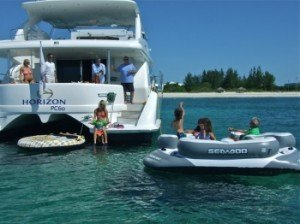 Come aboard BVI Yacht Charter La Manguita