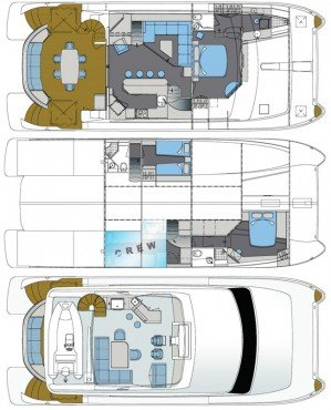 Yacht Layout of British Virgin Islands Charter Sea Boss