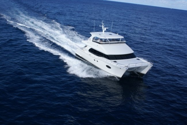 La Manguita is a 60 Feet Horizon Power Catamaran available for charter in British Virgin Islands and the Caribbeans.
