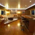 Sea Boss salon at night