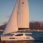 Blossom under sail