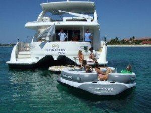 Come aboard BVI Yacht Charter Sea Boss