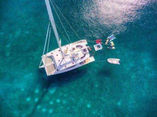 Come aboard BVI Yacht Charter Zingara