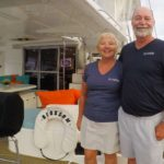 Meet Blossom's Captain and Crew. Sail the Caribbean aboard this 48 ft Leopard BVI Yacht Charter.