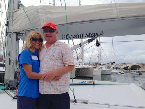Captain and Crew of Ocean Star, a 60ft Beneteau Caribbean Yacht Charter